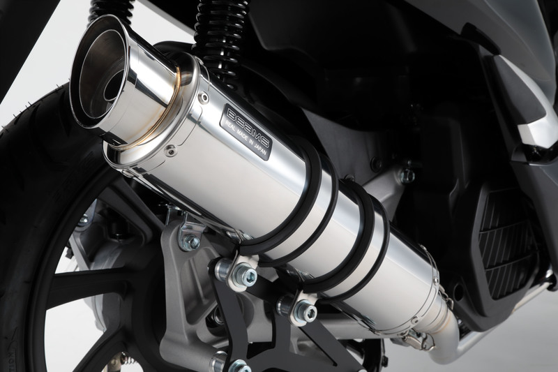 BEAMS マフラー G179-54-008 PCX125 18~ 2BJ-JF81 R-EVO2 ステンレス フルエキ ビームス