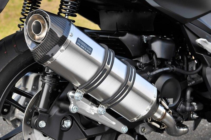 BEAMS マフラー G182-66-000 フォルツァ 2BK-MF13 FORZA GT-CORSA ステンレス フルエキ ビームス