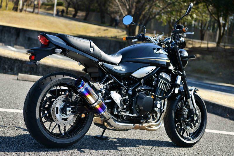 BEAMS マフラー G429-54-P1J Z900RS 2BL-ZR900C R-EVO2 ヒートチタン スリップオン