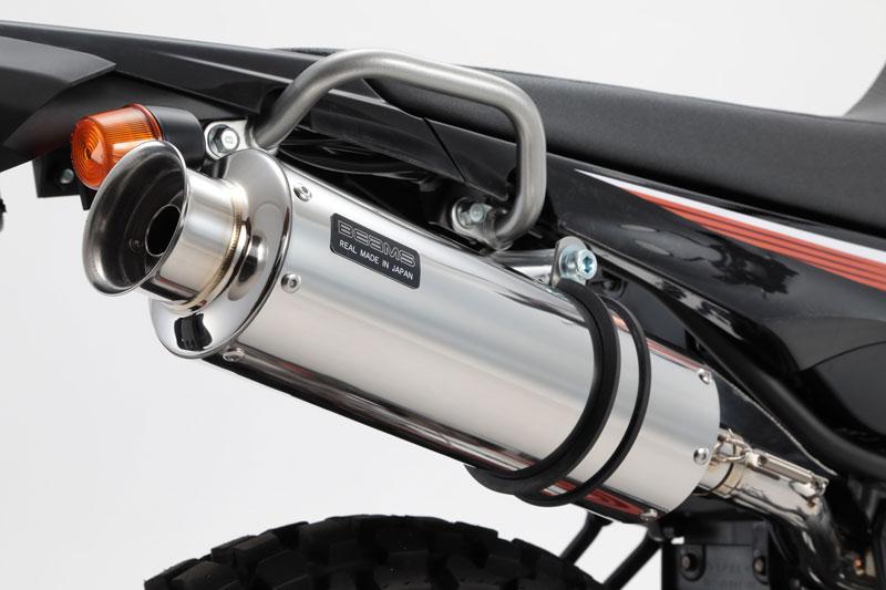 BEAMS ビームス マフラー G261-07-004 18~ SEROW250 Fi セロー SS300 ソニック スリップオン ステンレス