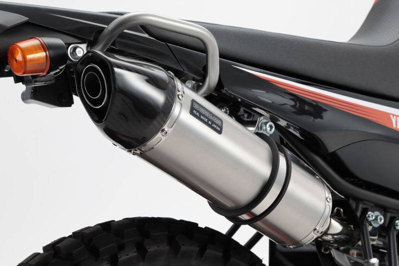 BEAMS ビームス マフラー G224-55-000 08~ SEROW250 Fi セロー CROSS-EVO スリップオン ステンレス