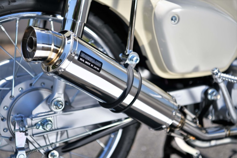 BEAMS ビームス マフラー G190-53-008 SUPER CUB50 スーパーカブ 2BH-AA09 フルエキ R-EVO ステンレス
