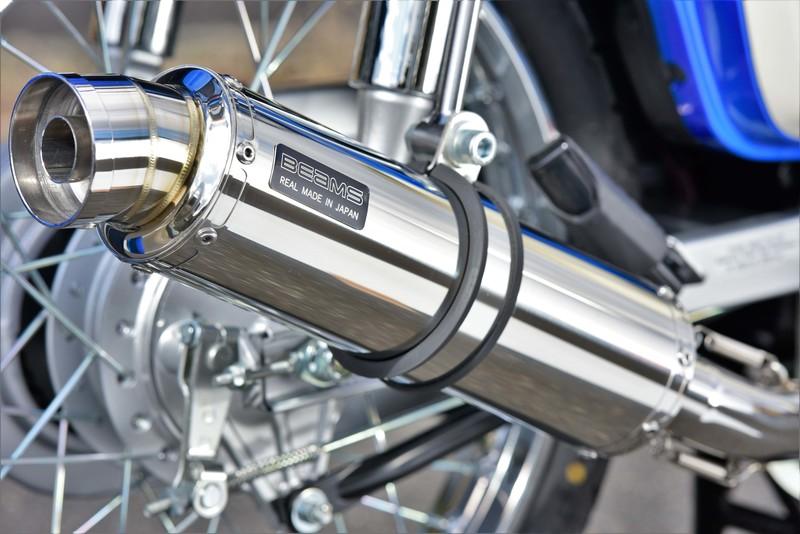 BEAMS ビームス マフラー G192-53-108 スーパーカブ110 18~ 2BJ-JA44 SUPERCUB フルエキ R-EVO ダウンタイプ ステンレス