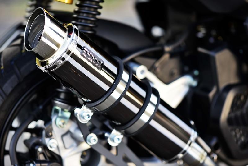 BEAMS G194-54-005 ADV150 2BK-KF38 R-EVO2 SMB スーパーメタルブラック フルエキ ビームス マフラー