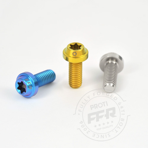 PROTI 64チタンボルト ZRX 1200R_ Front footrest bracket & Guard Heel_92153-1624_92150-1836_4+4pcs/Set,4,4