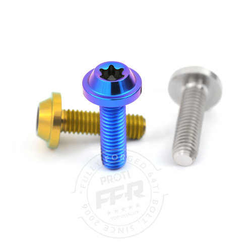 PROTI 64チタンボルト FZ1 and FZ1 Engine R/side Oil pump cover_6pcs/Set