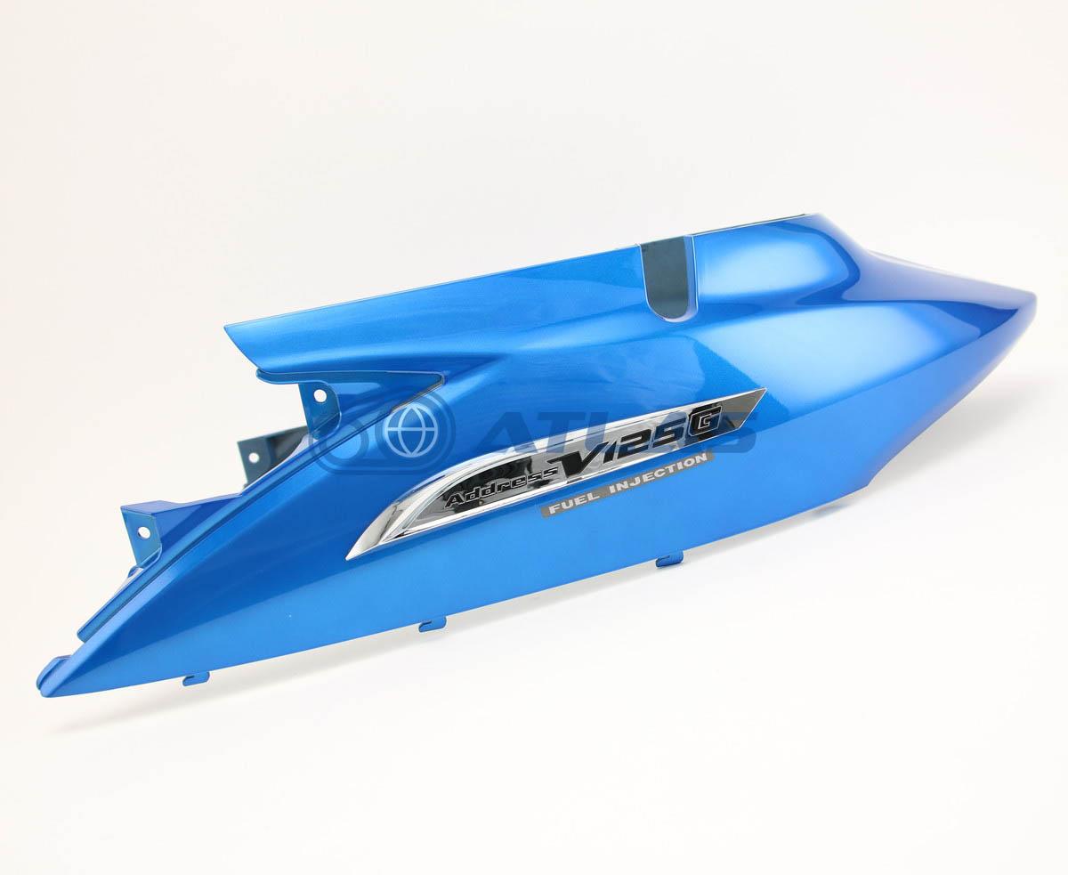台湾SUZUKI純正 アドレスV125G(ADDRESS)CF46A CF4EA カバー フレーム ボディカバー ブルー エンブレム付属 47110T33G61-YRG