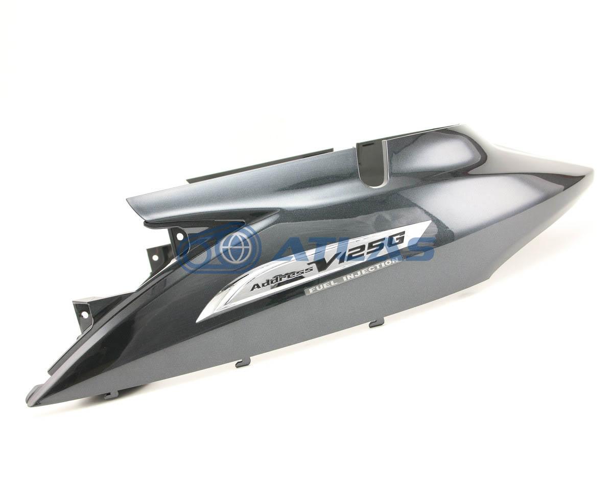 台湾SUZUKI純正 アドレスV125G(ADDRESS)CF46A CF4EA カバー フレーム ボディカバー グレー エンブレム付属47110T33G61-YMW