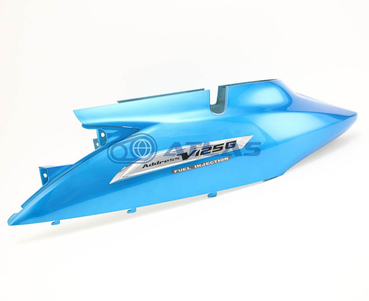 台湾スズキ純正 アドレスV125G(ADDRESS V125G)CF46A CF4EA フレーム ボディカバー ブルー 47110T33G61-YHJ
