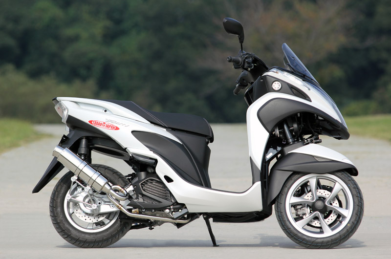 """SP TADAO SP忠男マフラー TRICITY トリシティ 125 PURE SPORT """"S"""" SUS TR1-PS-02"""