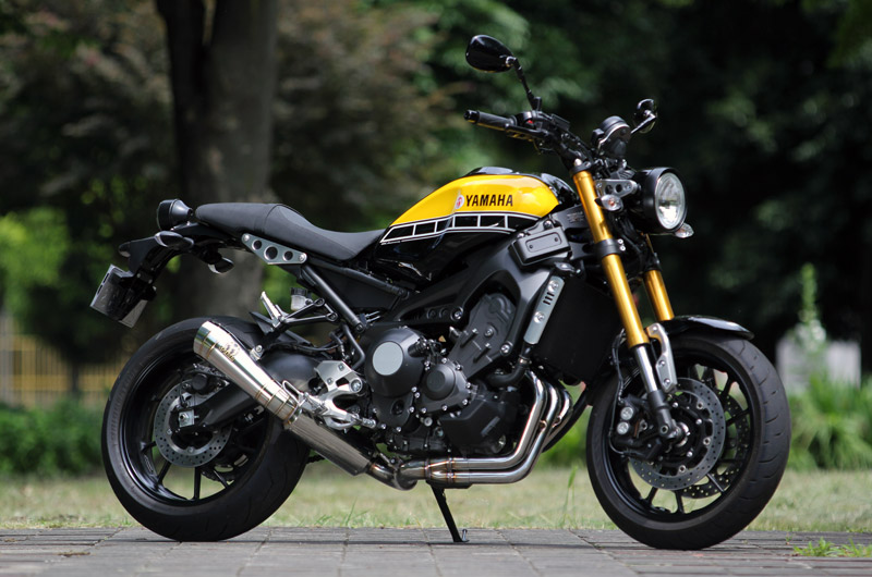 SP TADAO SP忠男マフラー XSR900(EBL-RN46J)  POWERBOX FULL パワーボックス XS9-PB-01