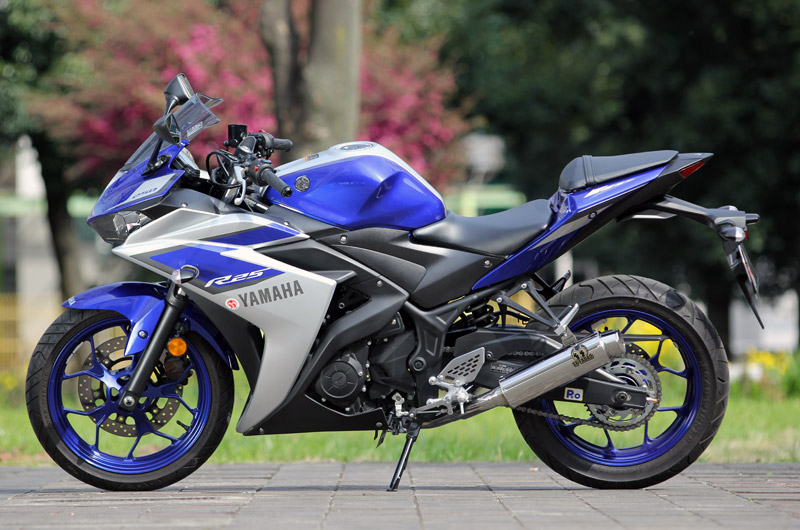 SP TADAO SP忠男マフラー YZF-R25 PURE SPORT TWOTAIL ツーテイル YZ2-PS-04
