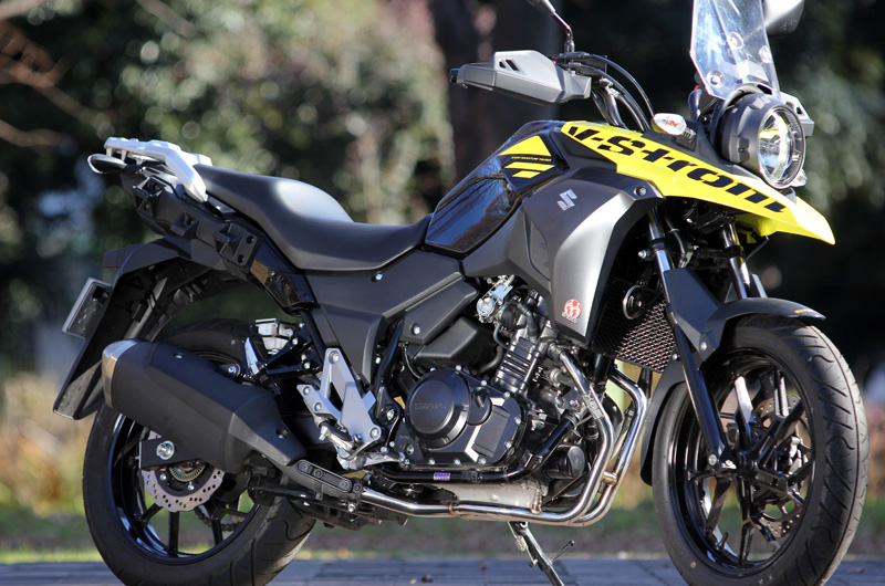 SP TADAO SP忠男マフラー V-Strom250 (2BK-DS11A) POWERBOX PIPE パワーボックスパイプ GS2-PB-02