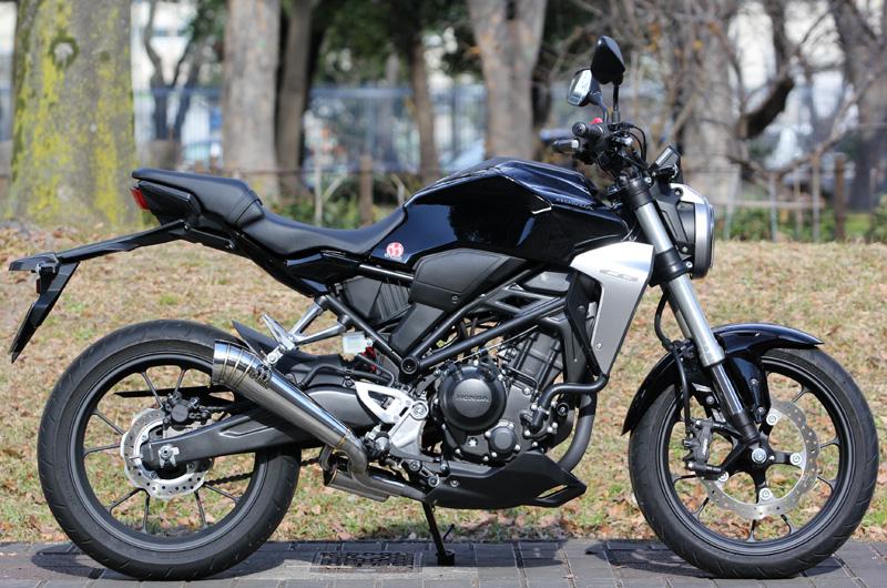SP TADAO SP忠男 マフラー 18~ CB250R 2BK-MC52 POWERBOX メガホン スリップオン CB2-PB-21