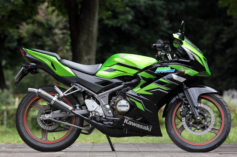 SP TADAO SP忠男 マフラー Ninja150RR(KR15)ジャッカルチャンバー NI1-CS-01