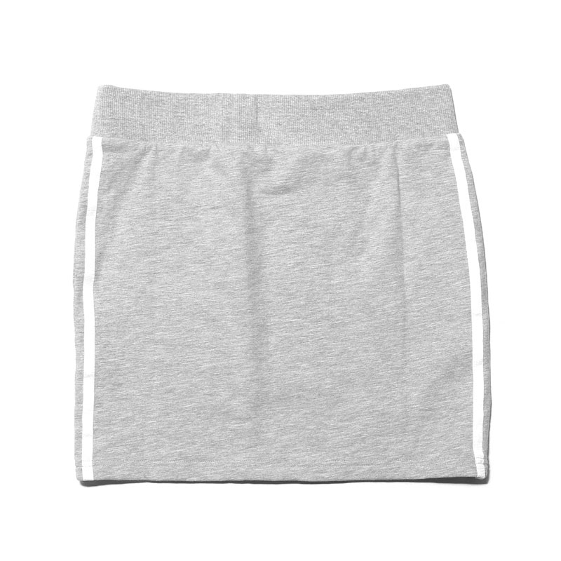 Adidas Originals 3STRIPES SKIRT (아디다스 オリジナルス 3 줄무늬 치마) Medium Grey Heather 16SS-I