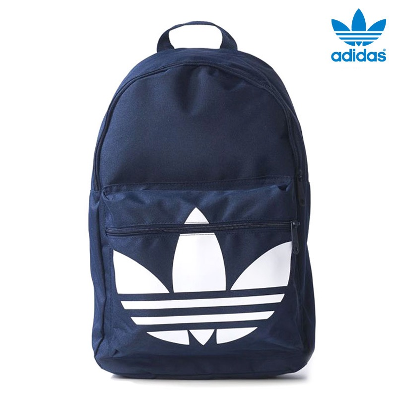 Adidas Originals BACKPACK CLASSIC TREFOIL (아디다스 オリジナルス 백팩 클래식 클로버) Night Indigo/White 16SS-I