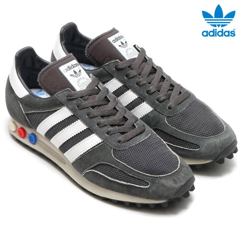 adidas Originals LA TRAINER OG((アディダス オリジナルス エルエートレーナー) Solid Grey/Vintage White/Solid Grey【メンズ レディース】【スニーカー】16SS-I