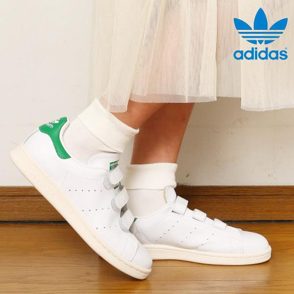 7f1984b92f61 adidas Originals STAN SMITH CF TF (Adidas originals Stan Smith CF TF)  Running White Running White Green 15FW-I