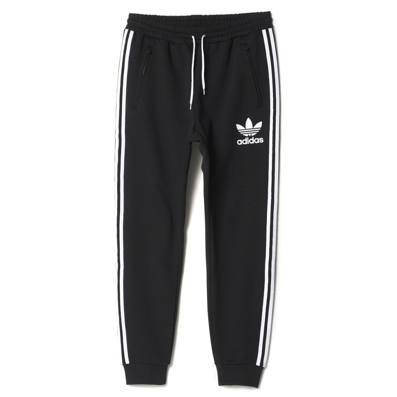 adidas Originals ADICOLOR SWEAT PANTS (adidas originals adicolor sweatpants)  Black 16FW-I