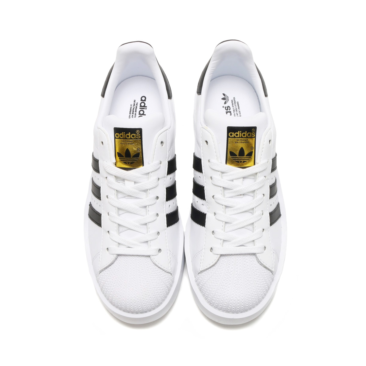 adidas Originals SUPERSTAR BD W (Adidas originals superstar boldface) (Running WhiteCore BlackGold Mett)