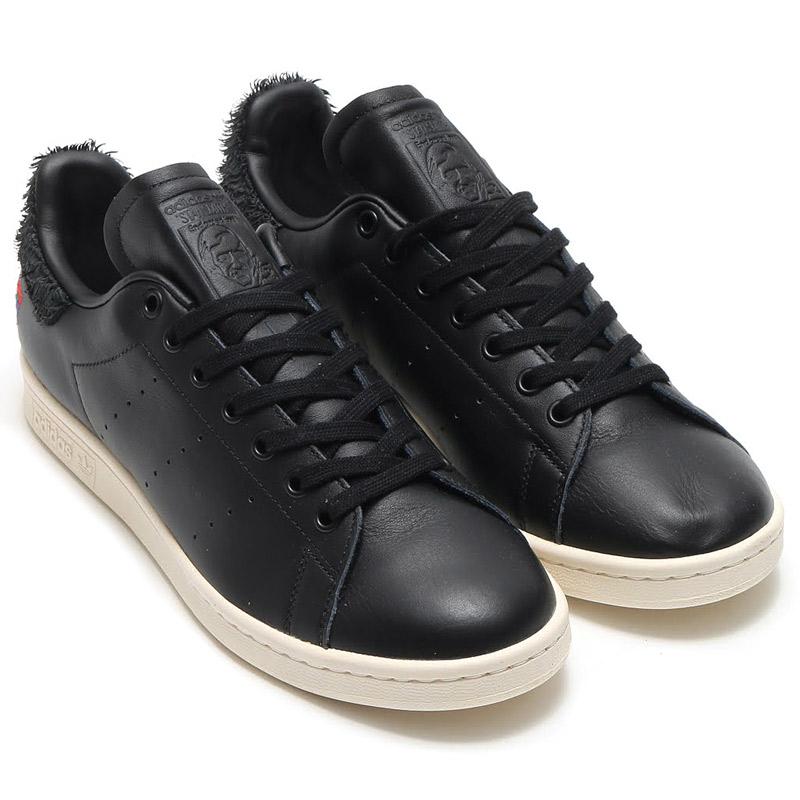 adidas Originals STAN SMITH CNY (Core Black/Core Black/Chalk White) (アディダス オリジナルス スタンスミス) 【メンズ スニーカー】17SS-I