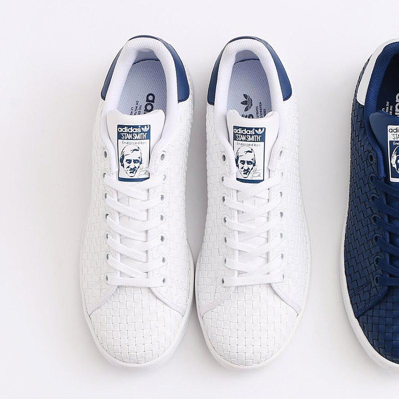 brand new 753ad 0e3a8 adidas Originals STAN SMITH (Running White/Running White/Mystery Blue)  (Adidas originals Stan Smith) 17SS-I