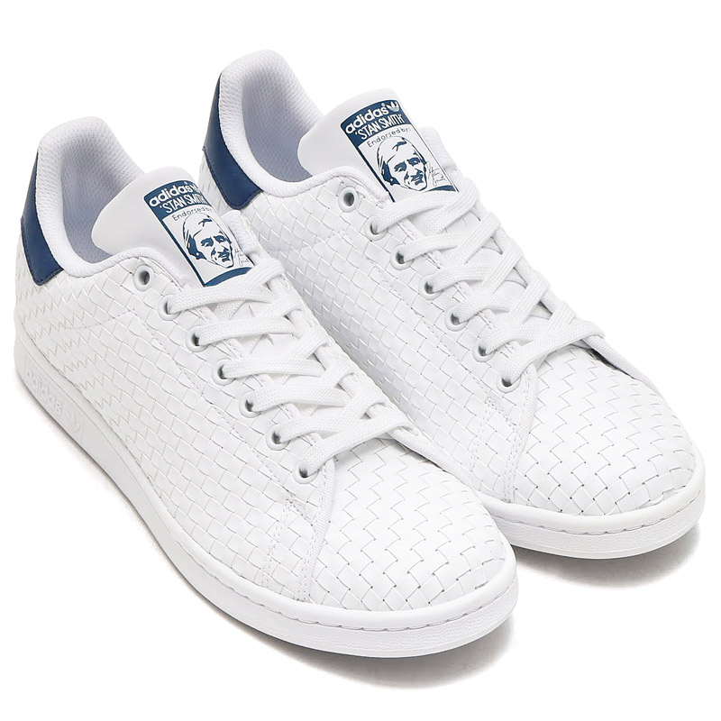 tout neuf 4353c b5760 adidas Originals STAN SMITH (Running White/Running White/Mystery Blue)  (Adidas originals Stan Smith) 17SS-I