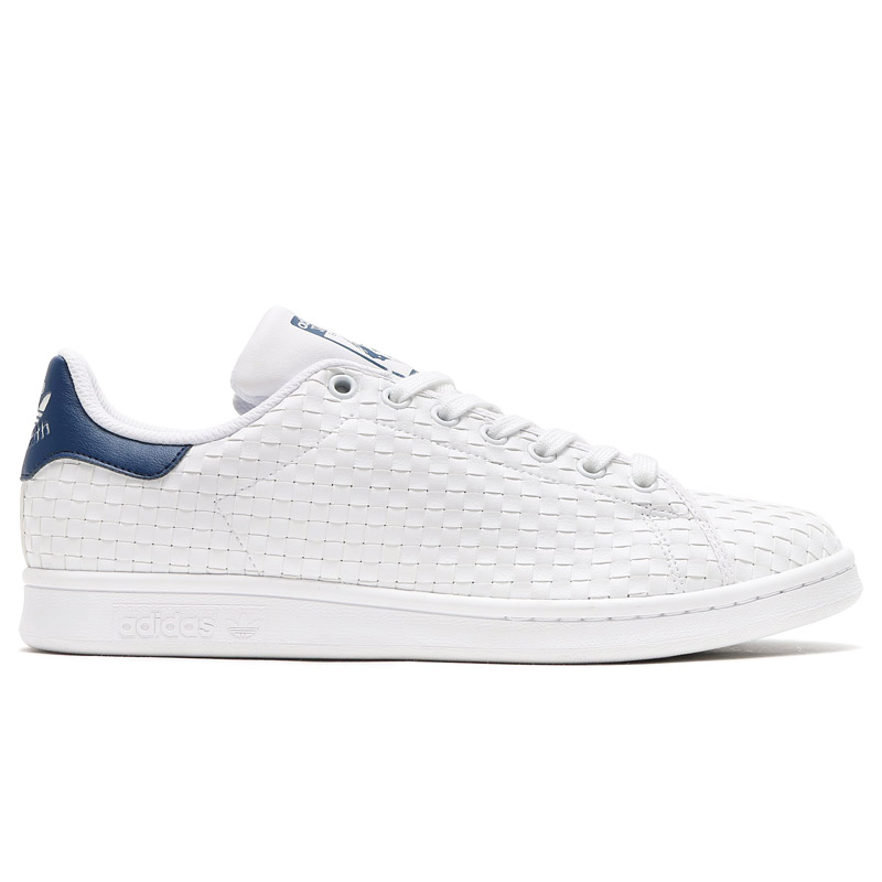 adidas Originals STAN SMITH (Running White Running White Mystery Blue) ( adidas originals Stan Smith) 17 SS-I ee4d64e153a0