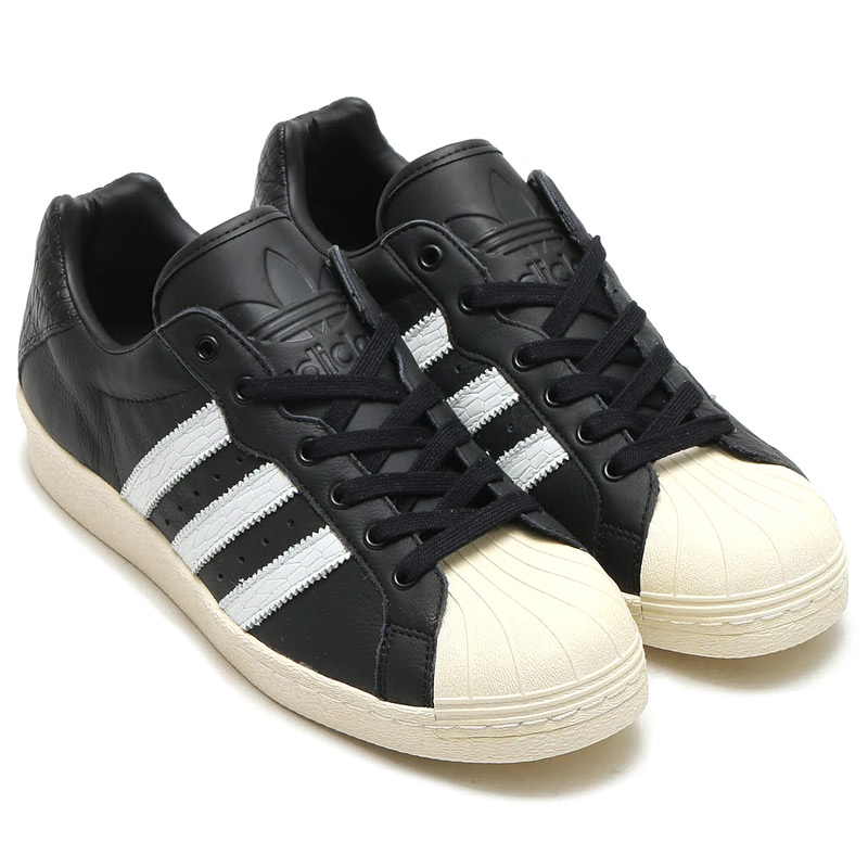 purchase cheap 5466c 70e60 adidas Originals ULTRASTAR 80 s (Core Black Running White Off White) (adidas  originals UltraStar 80 s) 17 SS-I