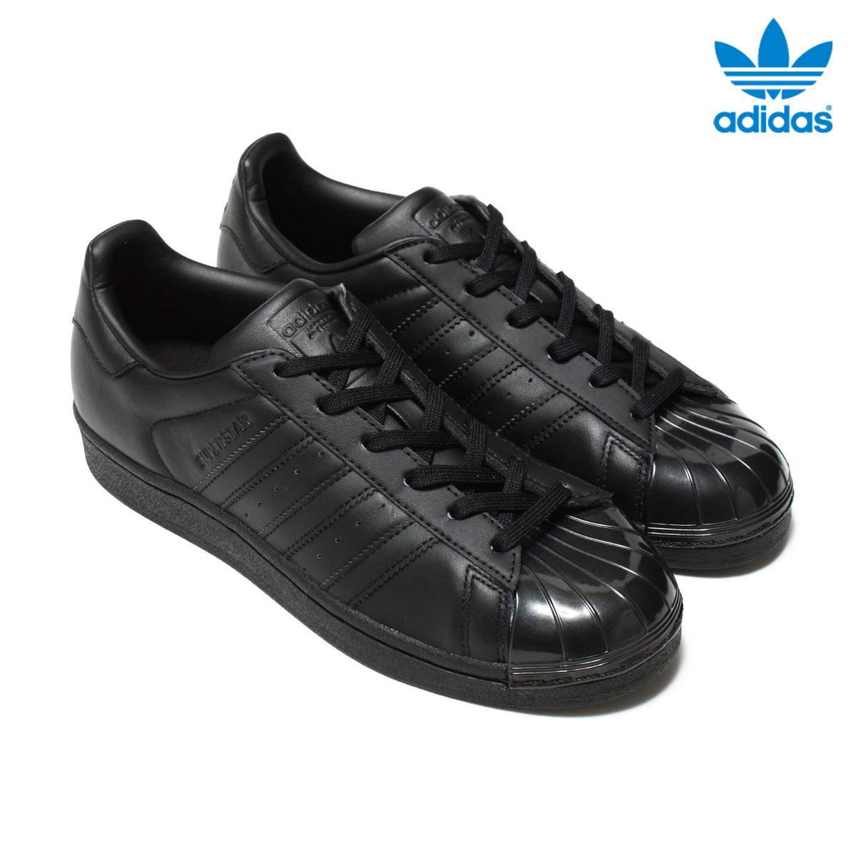 adidas Originals SUPERSTAR GLOSSY TOE W (アディダス オリジナルス スーパースター) Core Black/Core Black/Running White 【メンズ レディース】【スニーカー】16FW-I