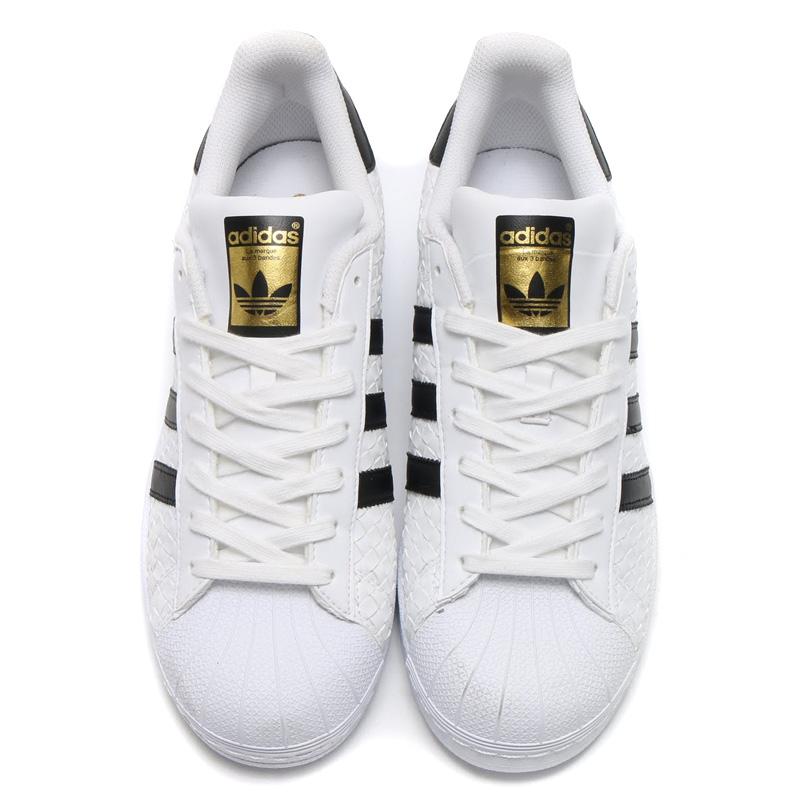 adidas Originals SUPERSTAR Adidas originals superstar) (Running WhiteCore BlackGold Foil) (17SS I