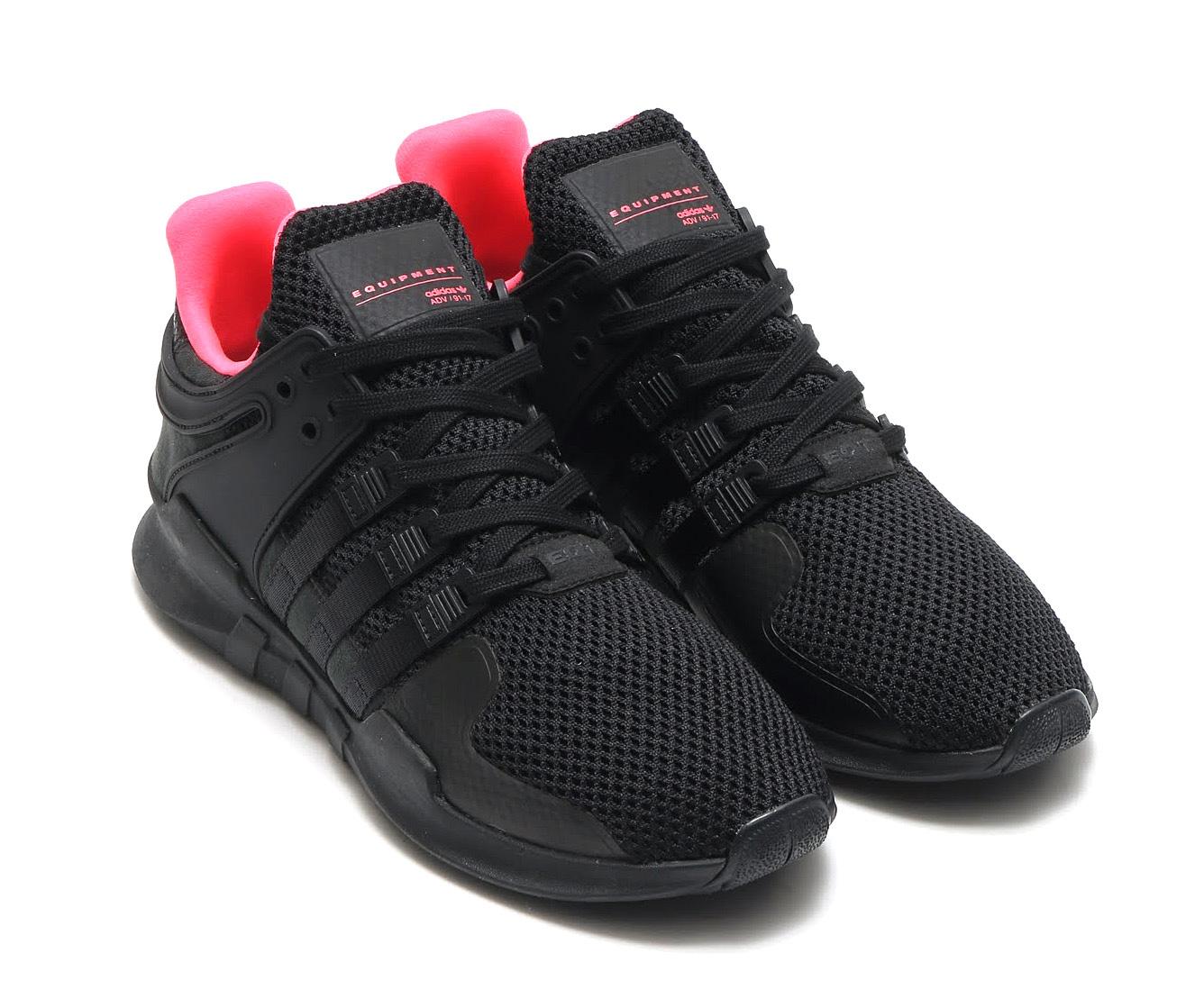 adidas Originals EQT SUPPORTADV(アディダス オリジナルス エキップメント サポート) (Core Black/Core Black/Turbo) 【メンズサイズ】17SS-I
