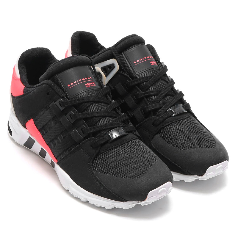 adidas Originals EQT SUPPORT RF (アディダス オリジナルス エキップメント サポート) (Core Black/Core Black/Turbo) 【メンズサイズ】17SS-I