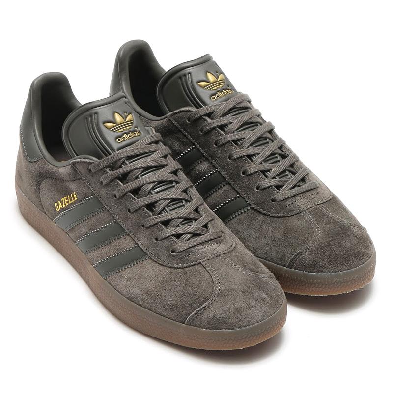 adidas Originals GAZELLE (アディダス オリジナルス ガゼル)(Utility Grey/Utility Grey/Gum) (アディダス オリジナルス ガゼル) 【ユニセックスサイズ】17SS-I
