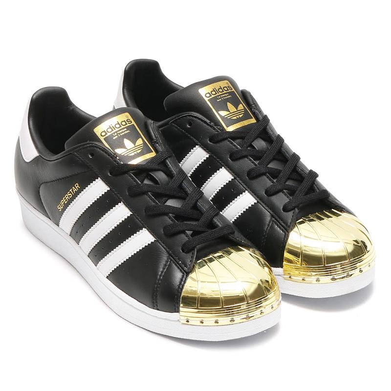 adidas superstar gold metal toe