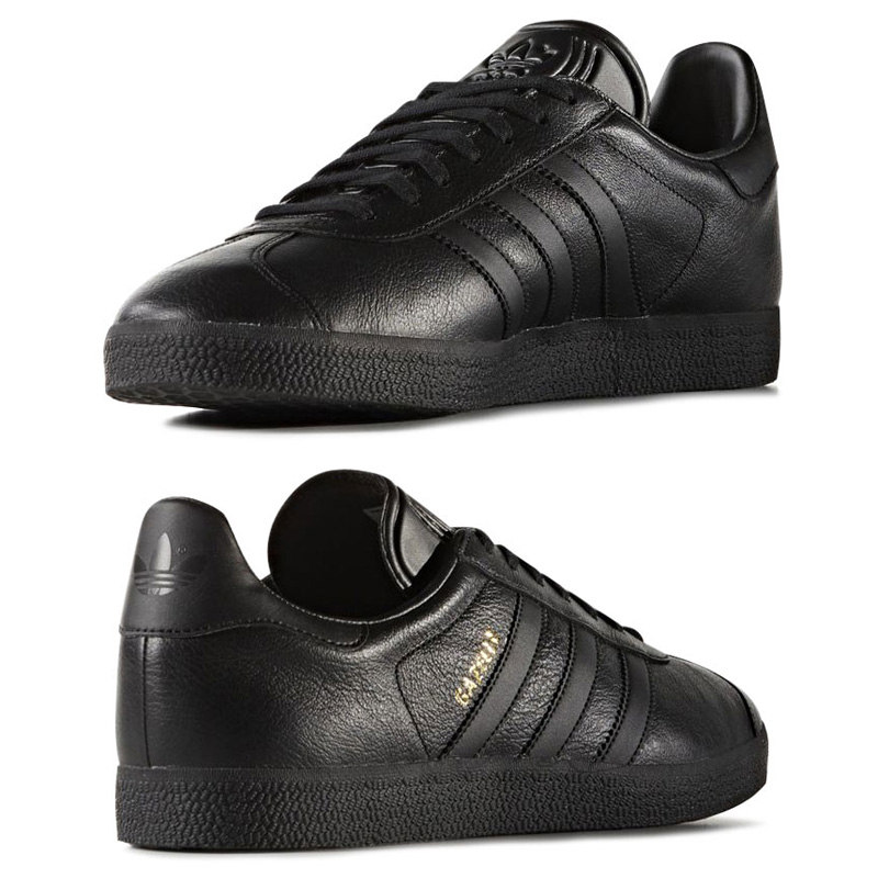 Marathon time store all points up to 20 times! adidas Originals GAZELLE (adidas originals Gazelle) Core BlackCore BlackGold Mett 16FW I