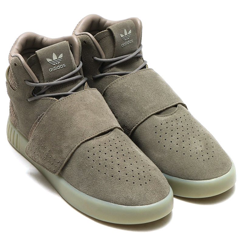 adidas men s tubular invader strap shoes beige adidas canada