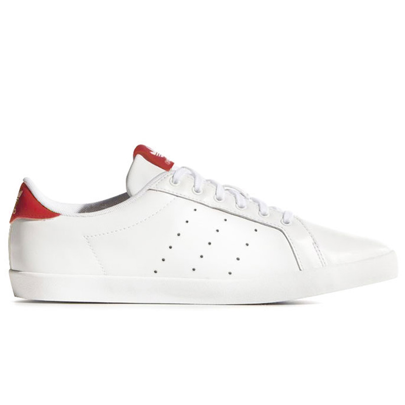 adidas Originals STAN SMITH BE W(アディダス オリジナルス スタンスミス) Running White/Running White/College Red【レディース スニーカー】16SS-I