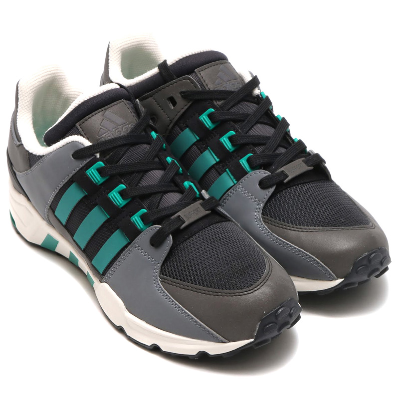 new product d7273 020c8 adidas EQT RUNNING SUPPORT (Adidas originals EQT running support) CORE  BLACK/SUB GREEN/CHALK WHITE 16FW-I