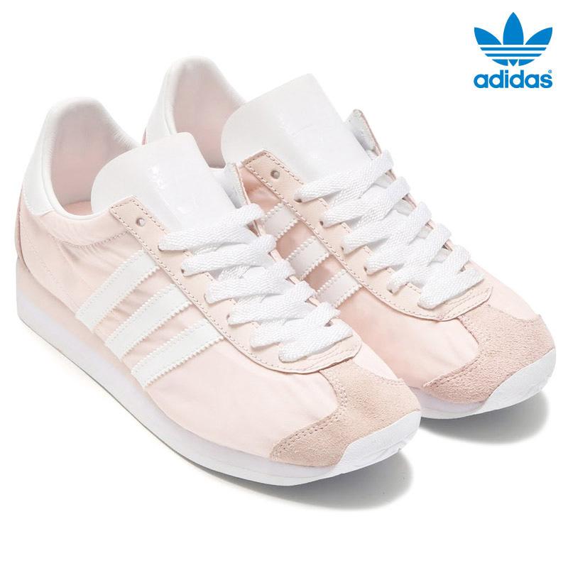 wholesale dealer 90465 c784f adidas Originals CNTRY OG W (adidas originals country) Halo PinkRunning  WhiteHalo Pink 16FW-I