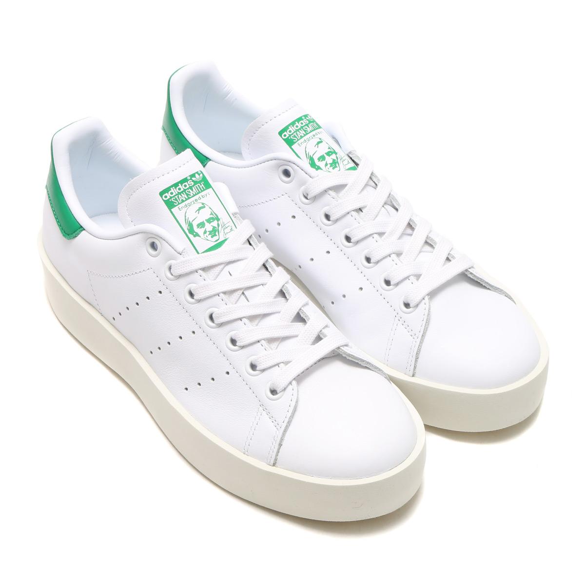 adidas Originals STAN SMITH BD W (adidas originals Stan Smith BD W) RUNNING  WHITE RUNNING WHITE GREEN 16FW-I b4e13dbcd