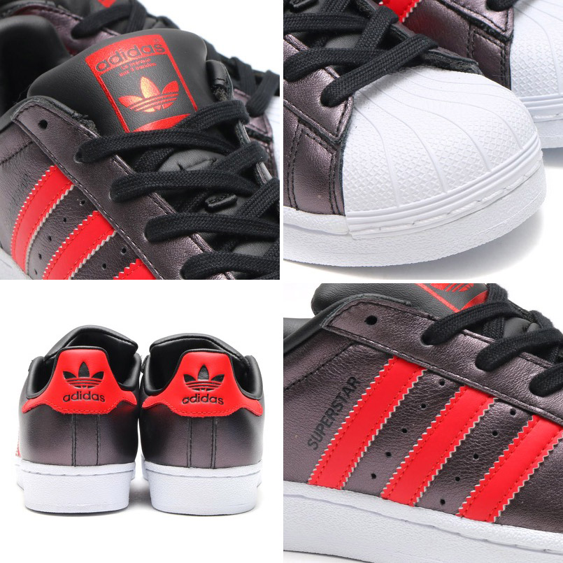 adidas Originals SUPERSTAR (adidas originals superstar) Core Black/Collegiate Red/Collegiate Red 16FW-I