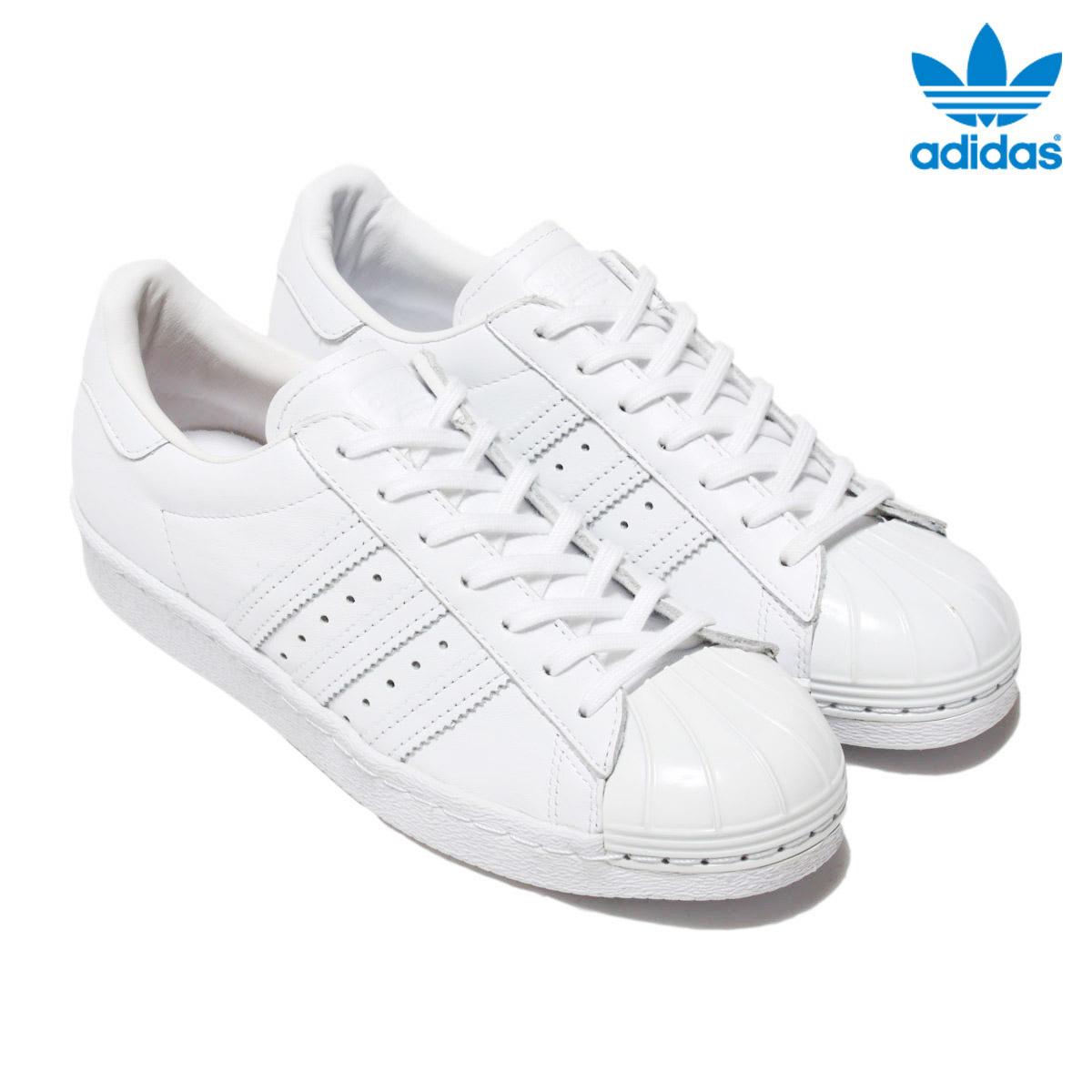 adidas Originals SUPERSTAR 80s METAL TOE W (アディダス オリジナルス スーパースター80s メタル トゥー) Running White/Running White/Core Black【レディース】【スニーカー】16FW-I