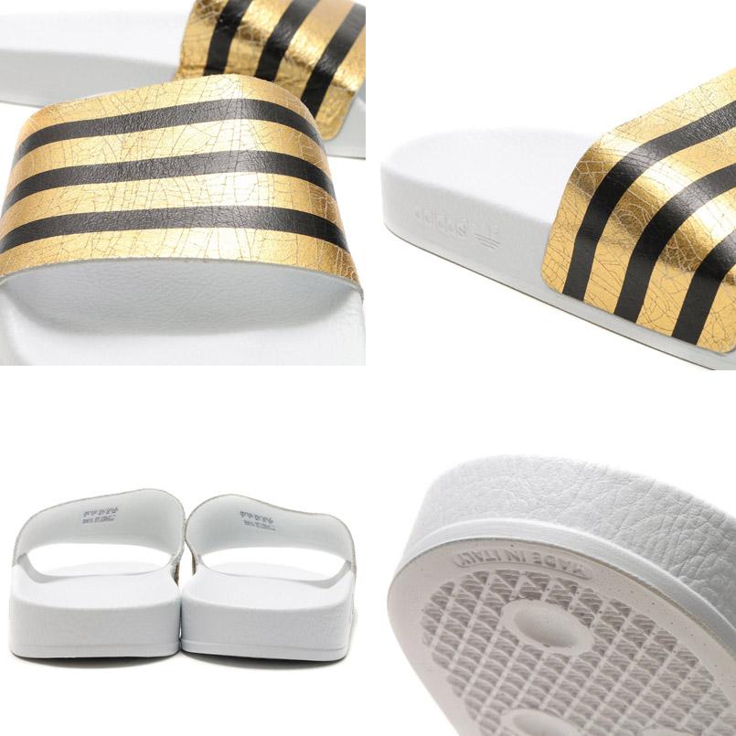 c65e7588d2d31 adidas Originals ADILETTE W (adidas originals adiliette) Gold Mett Running  White Running White 16SS-I