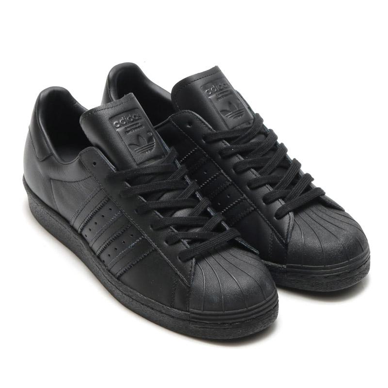 adidas Originals SUPERSTAR 80s TRIPLE TONA(アディダス オリジナルス スーパースター 80s トリプル トーナ) Core Black/Core Black/Running White【メンズ レディース スニーカー】16FW-I
