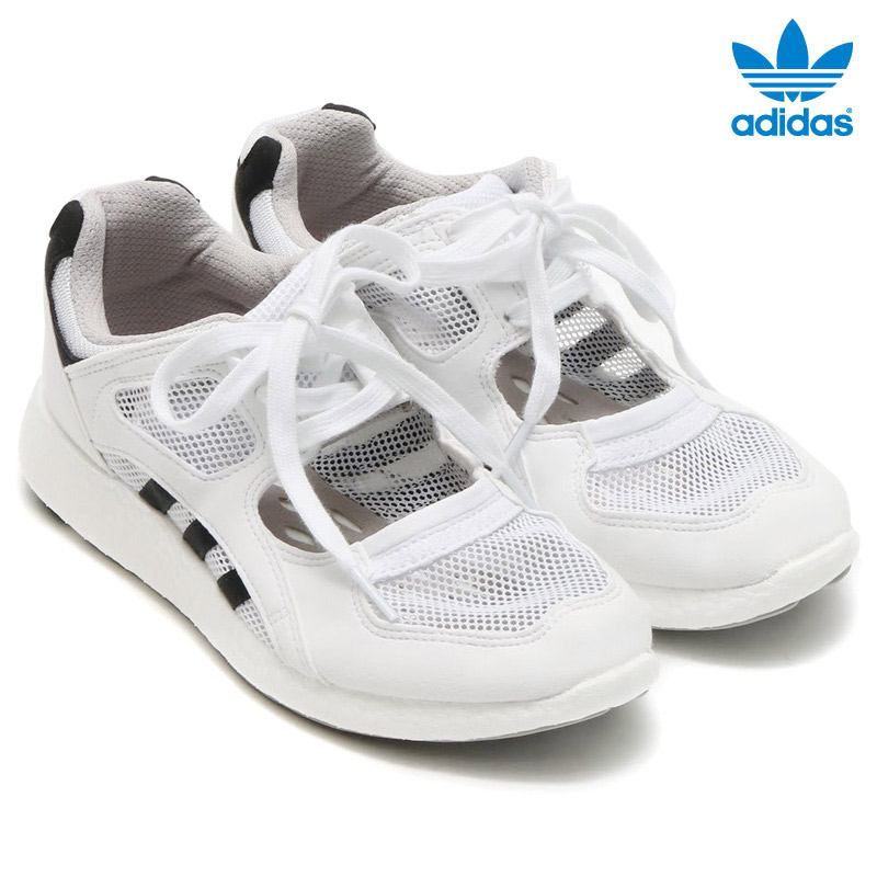 adidas Originals EQT RACING 91/16 W(アディダス オリジナルス EQT レーシング) Running White/Core Black/Running White【レディース スニーカー】16FW-I