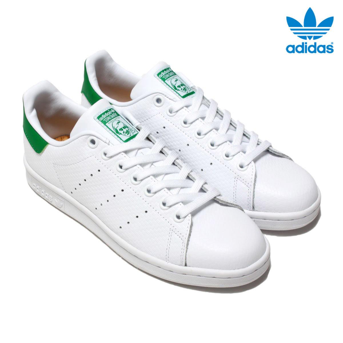 adidas Originals STAN SMITH (adidas originals Stan Smith) (Running WhiteRunning WhiteGreen) 16 FW I