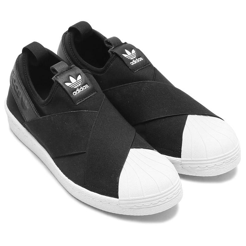 Adidas Originales Estrella Resbalón En Las Zapatillas De Deporte z9SwXRz0J2