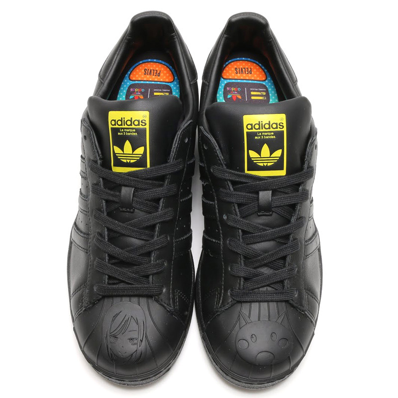 info for e078a 20ddf adidas Originals SUPERSTAR PHARRELL SUPERSHELL (adidas originals superstar  Pharrell Super shell) CORE BLACK CORE BLACK GOLD MET 15FW-I
